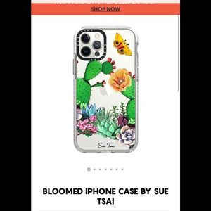 Casetify Bloomed iPhone case Sue TSAI 12 pro new